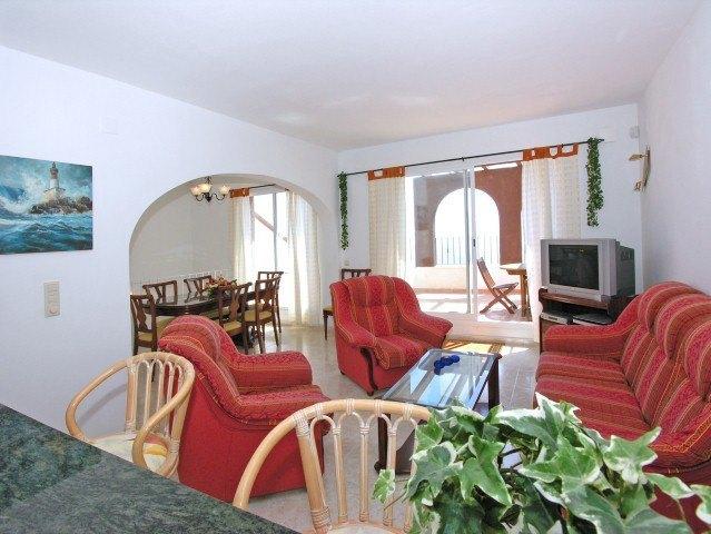 Appartement for sale in Benitachell, uitzicht op zee.