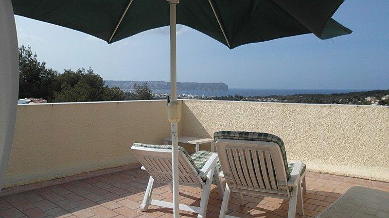 Villa te koop in Javea, uitzicht op zee.