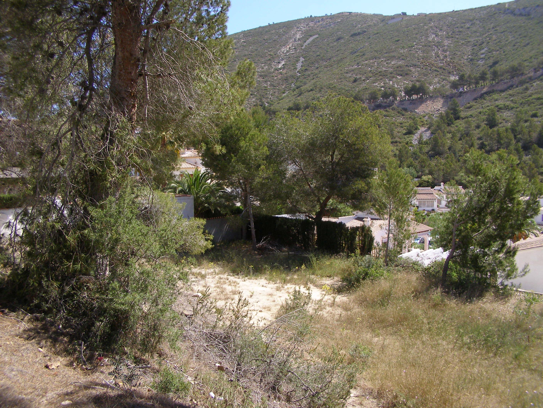 Grondstuk for sale in Valle del Portet, Benitachell