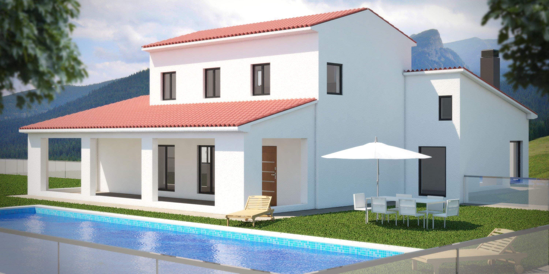grondtuk met bouwvergunning te koop in Benissa