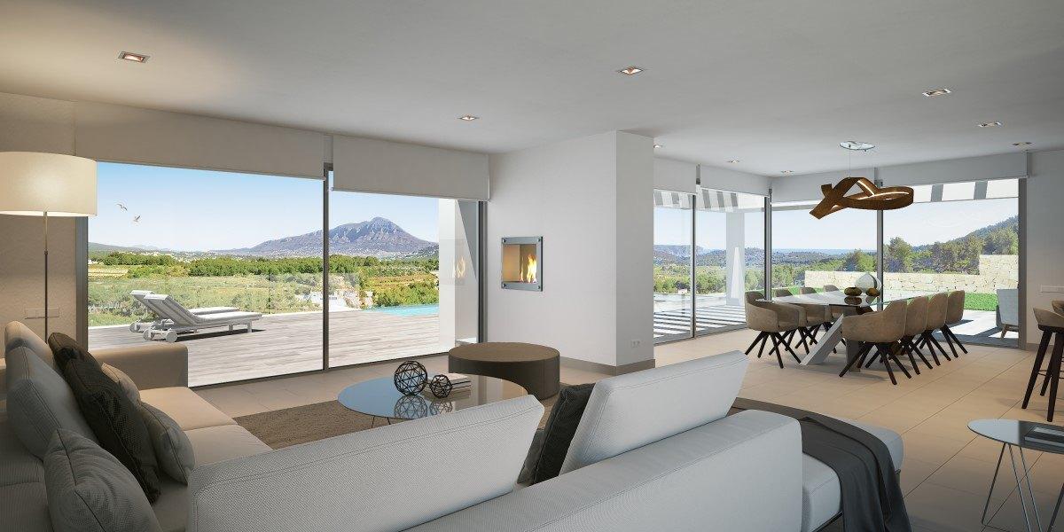 Moderne villa te koop in Javea, Villes del Vent