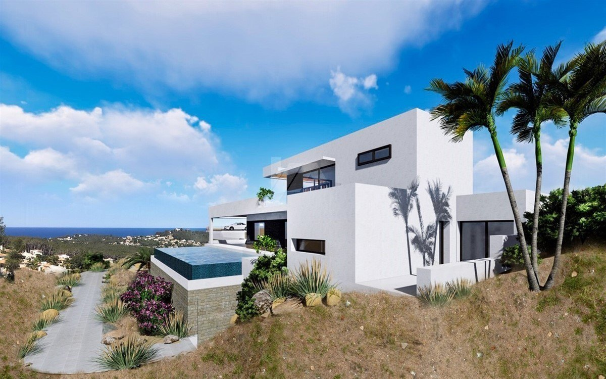 Sea view villa te koop in Javea, Costa Blanca.