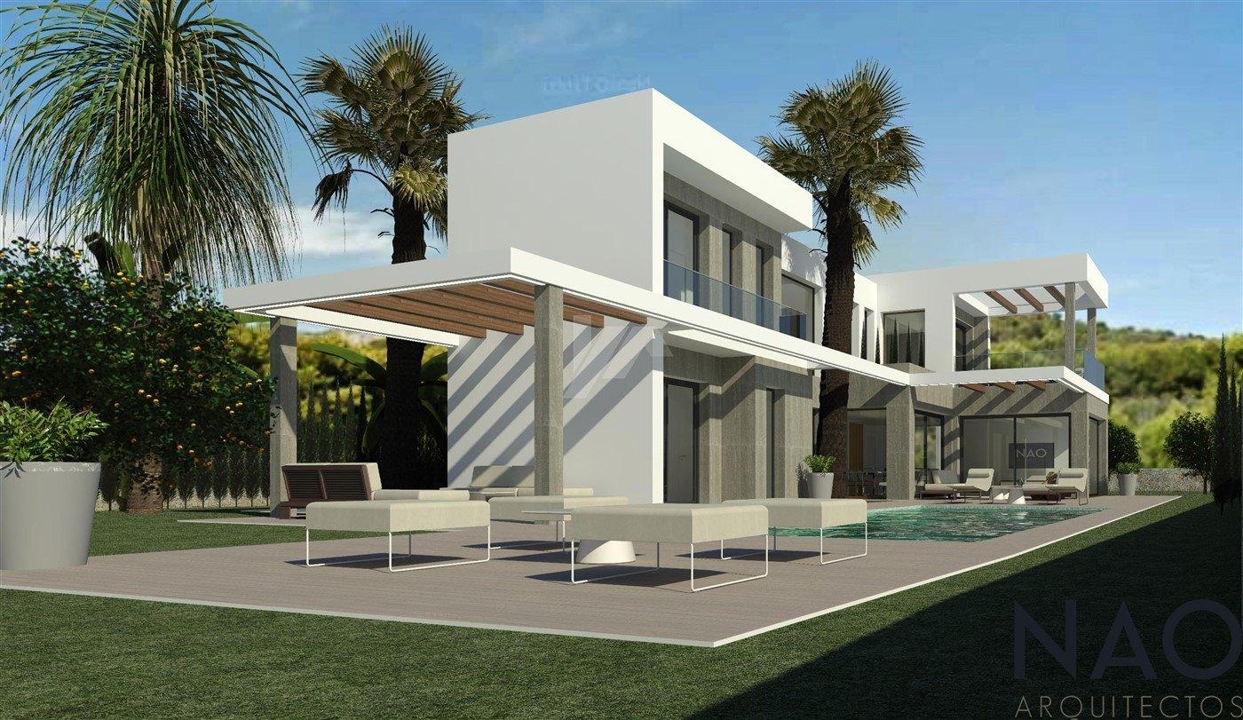 Nieuwbouw villa te koop in Javea, Costa Blanca.