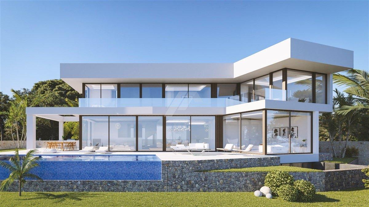 Villa met zeezicht te koop in Benissa, Costa Blanca.